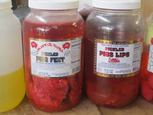 pigs lips