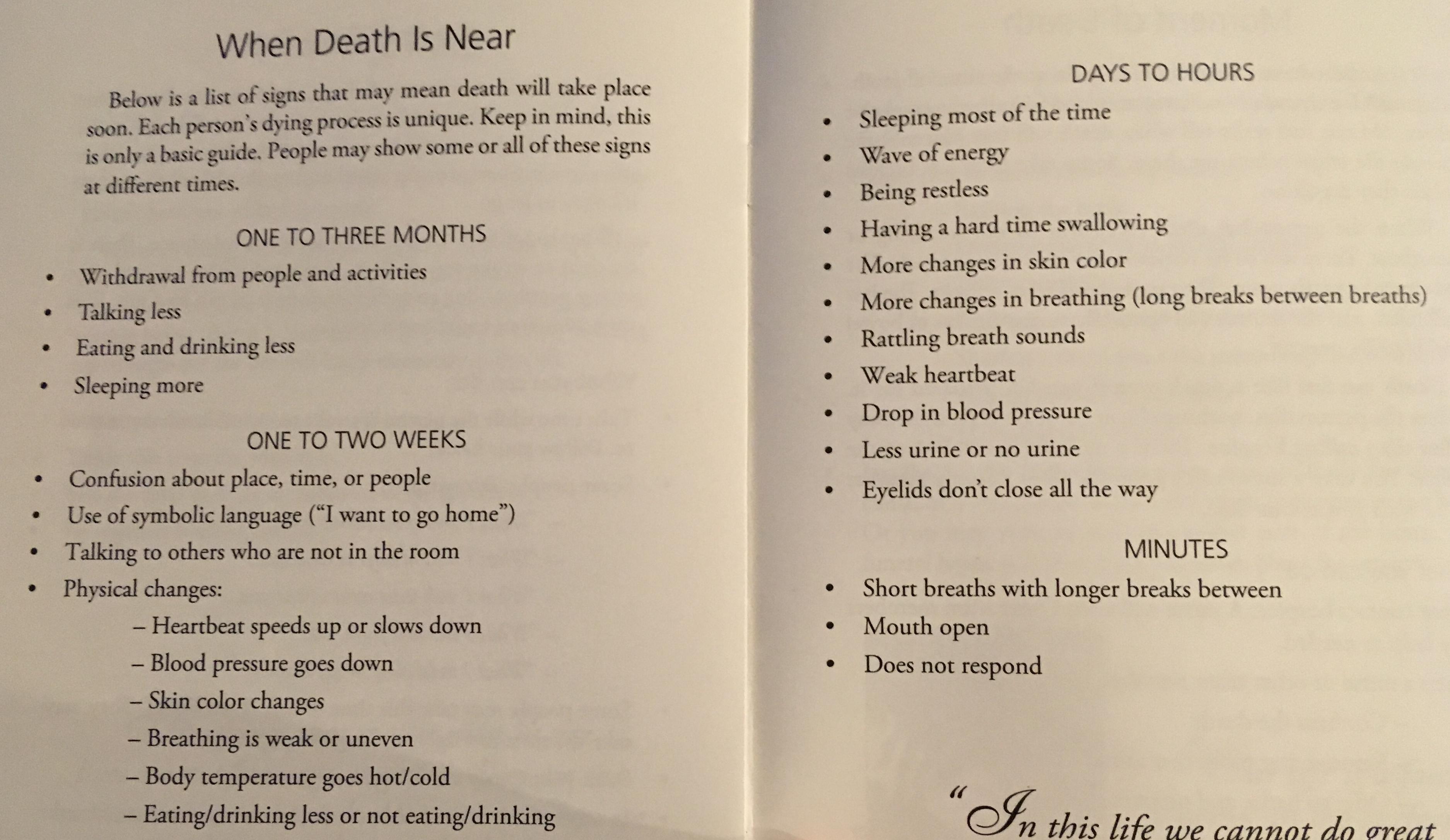 death | Breaking Free